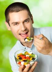 правильное питание отлично дополнит процесс восстановления половой активности мужчины и повышения его ослабленной потенции