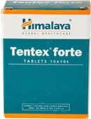 серебристые таблетки Tentex forte предназначены для мужчин, у которых нарушена потенция