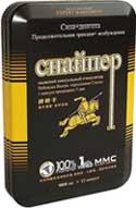 таблетки «Снайпера» содержат эпимедиум, который способствует повышению качества семени в организме мужчины