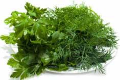 Зелень хорошо заходит при употреблении продуктов из мяса, при поедании супов, а также вместе со специальными салатами для мужчин