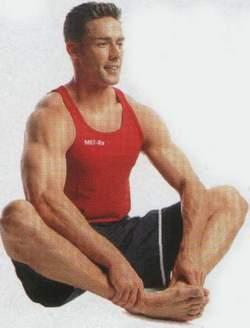 упражнение «бабочка» взято из йоги и полезно для мужчины в целях улучшения притока крови и повышения потенции