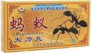 на упаковке изделия для потенции «Маи Даливань» нарисованы черные муравьи, что говорит об их наличии в составе данной добавки для мужчин